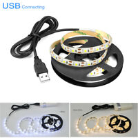 1M-4M USB Powered LED Strip Tape String Fairy Lights Home Christmas Backlighting