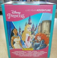 More details for panini disney princess live your adventure stickers collection 9 18 36 packs box