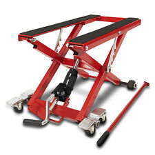 Motorcycle Scissor Lift XL for Harley Davidson Road King red Hydraulic Jack