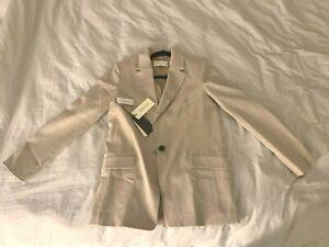 NEW Aritzia Women's Babaton Swift Tan blazer Size 2 Small 60% OFF FLASH SELLING