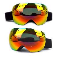 X3 Ski Goggles - Red Revo
