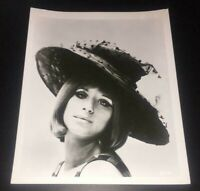 VERY RARE Barbra Streisand 1964 Columbia Promo Photo #10 w/ Academy Stamp