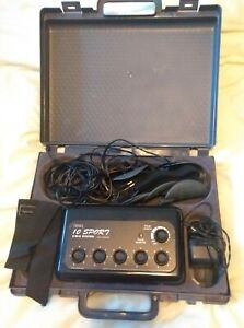 Beauty Works Sports 10 Electrical Muscle Toning Stimulation Exercise Machine EMS