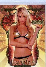 Benchwarmer 2007 Gold Lisa Gleave Insert Card LG 1 6