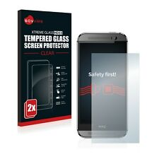 2x TEMPERED GLASS SCREEN PROTECTOR for HTC One M8 / M8s