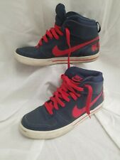 NIKE BIG HIGH AC Men's US Size 10.5  Basketball Shoes Blue / Red 477103-461