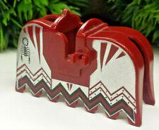1x Lego Figuren Schutz Schild weiß rot Wappen Löwe Ritter 6046 6078 3846p4d