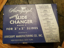 VINTAGE Airequipt Automatic Slide Changer Model P in Original Box
