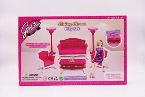 Girl's Favorite/Gloria Living Room Play Set (No. 3017)