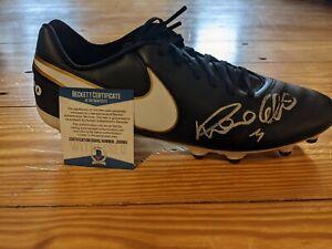 Ronaldo Signed Nike Soccer Cleat Beckett COA