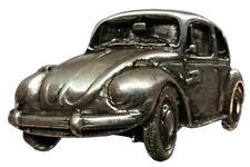 Gürtelschnalle Auto Käfer-neu, silberfarbig aus Metall