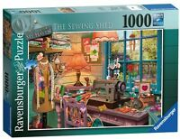 RAVENSBURGER PUZZLE*1000 TEILE*MY HAVEN 4*THE SEWING SHED*RARITÄT*NEU+OVP