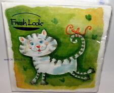 20 Servietten The Cat Katze Katzen aus Italien Tiermotiv NEU