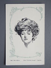R&L Postcard: Comic, C Dana Gibson, Pictorial Comedy, Art Nouveau Glamour Design
