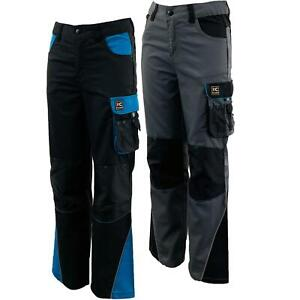 Kids Junior Outdoor Activity Action Workwear Cargo Trousers
