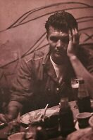 1982 Vintage BRUCE WEBER Military Man On Leave Drink Waikiki Bar Photo Art 16X20