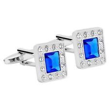 Unbranded Diamond Square Cufflinks for Men