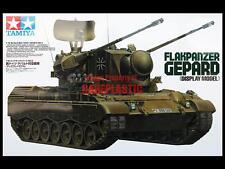 Tamiya 1/16 Flakpanzer GEPARD Non-R/C Display Kit 36208 *DISCONTINUED* MIB