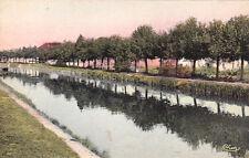 VILLEFRANCHE-SUR-CHER canal du berry timbrée 1937
