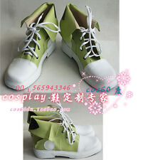 Kagerou Project Tsubomi Kido Green Cosplay Boots S008