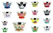 Hand Paint Stainless Steel Mixing Bowl Set Home Kitchen Food Container Gift Bowl