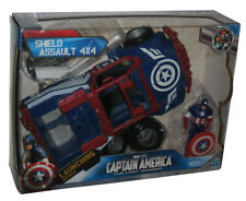 Marvel Captain America Shield Assault 4x4 Toy Figure Set