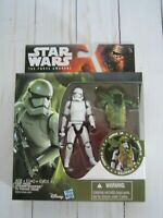 STAR WARS THE FORCE AWAKENS ARMOR UP FIRST ORDER STORMTROOPER 3.75 FIGURE NEW