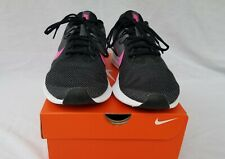 New Women's Nike Downshifter 9 Running Shoes AQ7486 002 Black & Pink & White
