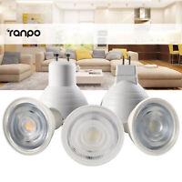 Dimmable LED Spotlight COB GU10 MR16 GU5.3 7W Bulbs 24° Angle AC 110V 220V Light