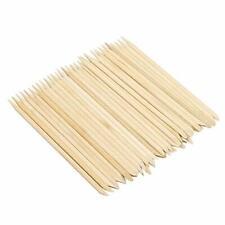 Green Convenience 50 Pcs Double Sided Orange Wood Nail Sticks Multi Functiona.