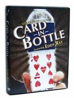 Appearing Card In Bottle DVD - 12 Illusions Explained - Magic Trick - US Seller