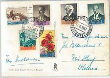 62685 - SAN MARINO - POSTAL HISTORY - POSTCARD to HOLLAND : OLYMPIC GAMES 1959