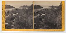 View From Above Casper's Mill Mendocino County CA by Carleton E. Watkins 1867 SV