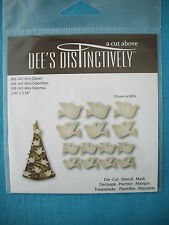 Dee's Distinctively - Mini Doves Die Set - Christmas - For Cuttlebug & Sizzix