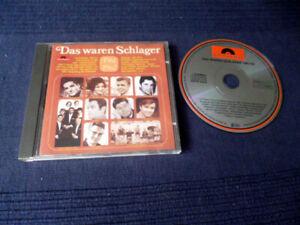 CD POLYDOR Das Waren Schlager 1961/62 Quinn Robic Backus Ramsey Eskens Francis