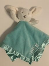 NWT Carter's Some Bunny Loves Me Rattle Baby Security Blanket Lovey