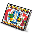 Action Plates - Rub  Color Design - Mix  Match Rubbing Plate Drawing Set 01320