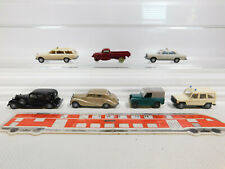 Ck981-0, 5# 7x Wiking h0/1:87 modelo: MB taxi/G-clase + horch etc, ligera deficiencias