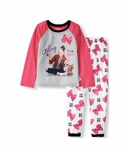 Jojo Siwa Girls Bling It On Santa Pajamas Christmas Holiday Sleep Set Size Small
