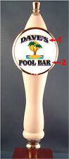 Custom Tiki Island Beer Tap Handle knob tapper for Kegerator or Faucet