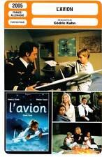L'AVION - Botzaris,Carré,Lindon,Kahn (Fiche Cinéma) 2005