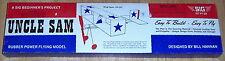 Uncle Sam Model Kit (Aircraft, Balsa Wood); 1976 by SIG