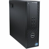 Dell Precision T1700 SFF Intel i5 4590 3.4Ghz 8Gb Ram 128Gb SSD Quadro Win 10