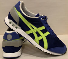 Asics Onitsuka Tiger Men's Size 9.5 Athletic Shoes D402N Purple Yellow EUC
