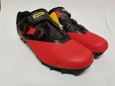 New Mavic Mens Crossmax Pro Mountain Biking Shoes Red 9 US, 42-2/3EU Reg$220