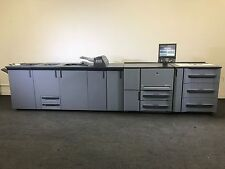 Konica Minolta Bizhub Pro 1200p Printer Loaded Finishing Options Low Meter 6.5 M
