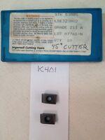 9 NEW INGERSOLL LSE323R02 CARBIDE INSERTS.  GRADE: 213    {K401}