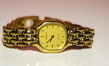 Tissot Stylist E 242 Women Wrist Watch Swiss Gold Plated Water Resistant Mint