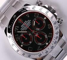 Rolex Daytona Cosmograph 116520 Stainless Steel 40mm Watch-Black Arab Dial-Box