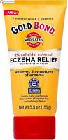 Gold Bond Eczema Relief Skin Protectant Cream 5.50 oz